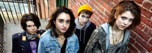 Opening act for Youth Services' Battle of the Bands is the Snaz, past winners in 2012.